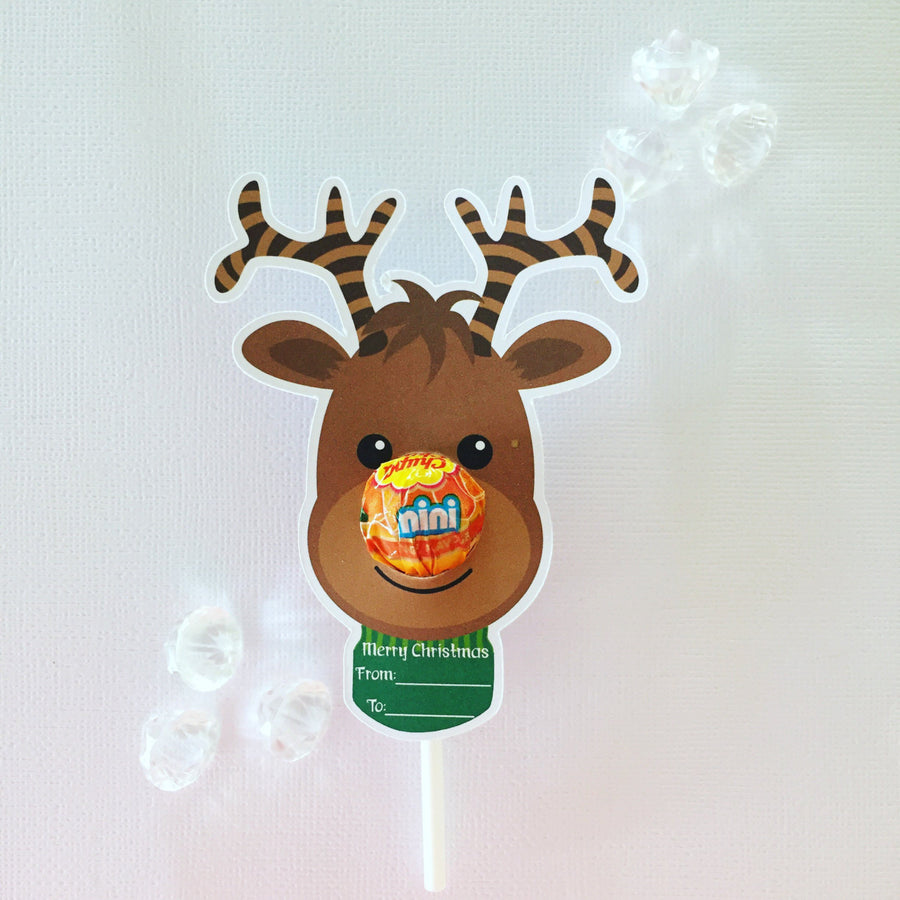 Reindeer mini size lollipop holders