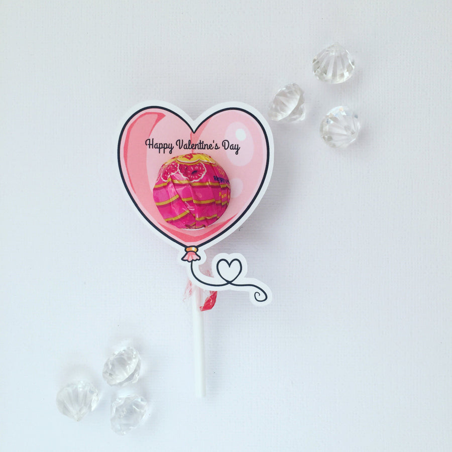 Valentine's Day lollipop holders