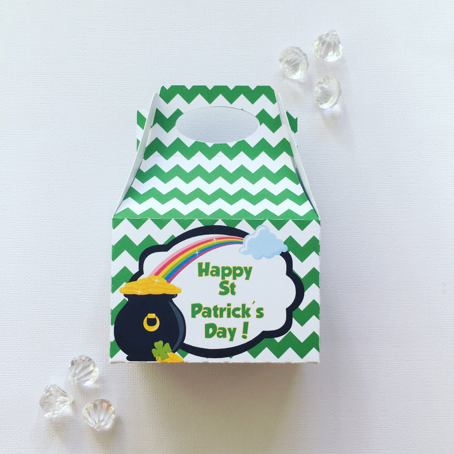 St Patrick's daytreat boxes
