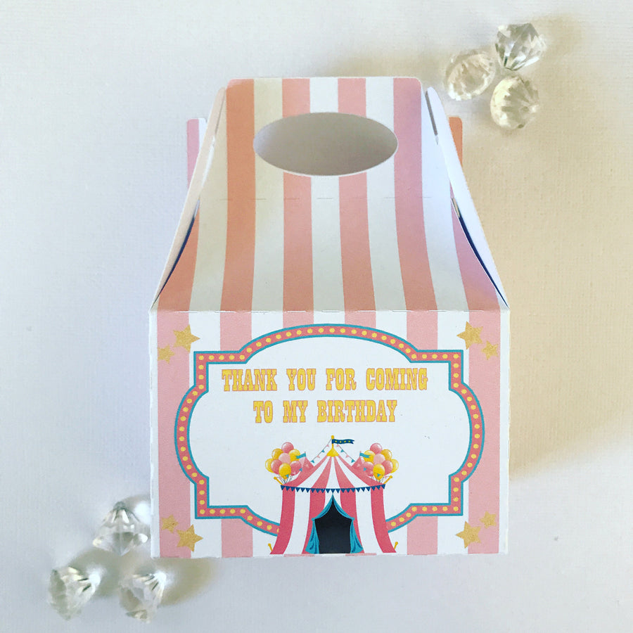 Carnival treat boxes