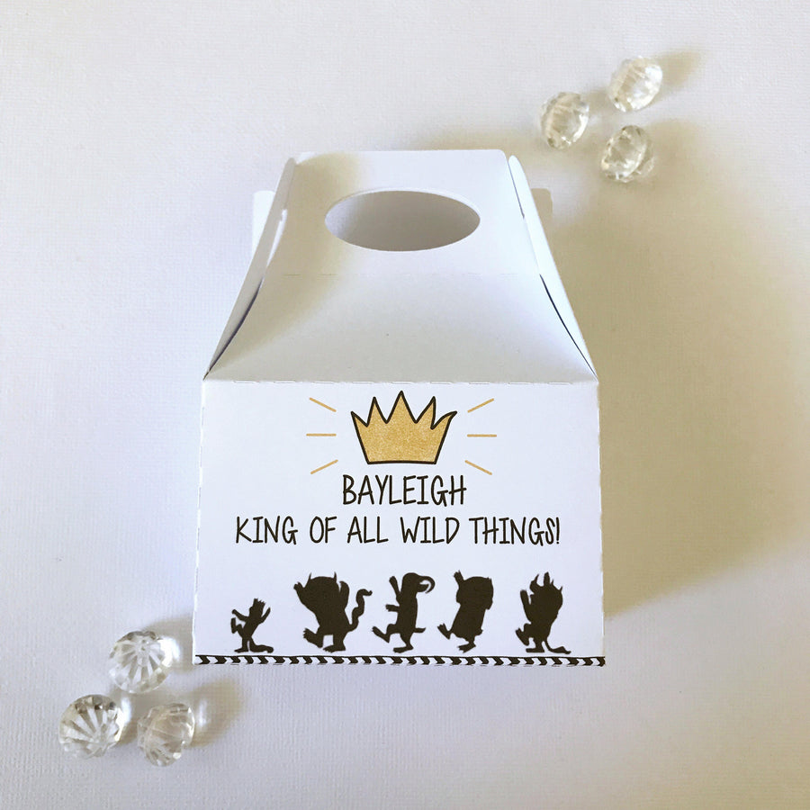 Where the wild things are treat boxes