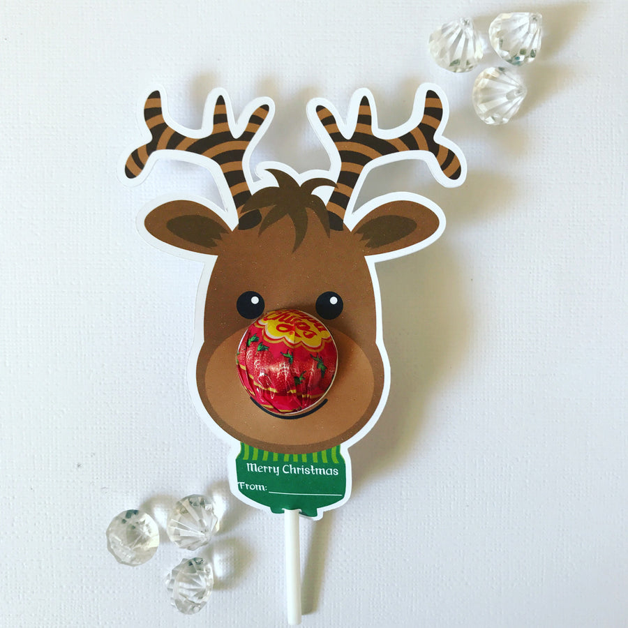 Reindeer lollipop holders PACK OF 30