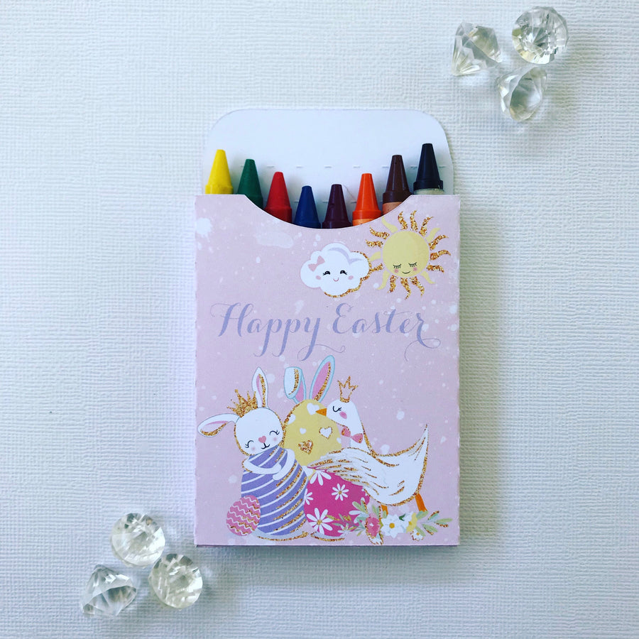 Magical bunnies crayon boxes