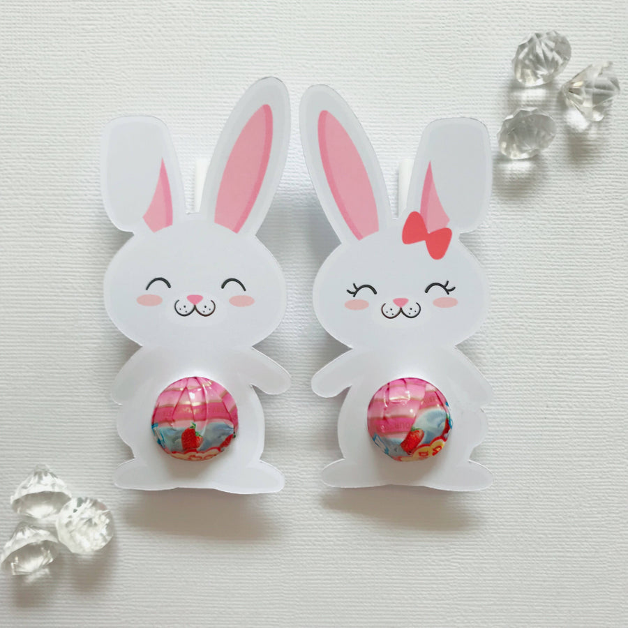 Hoppy Easter mini lollipop holders mixed pack