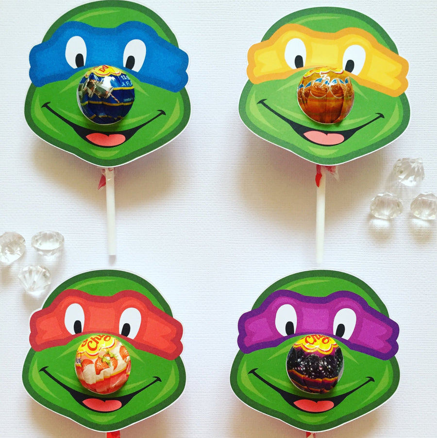 TMNT lollipop holder