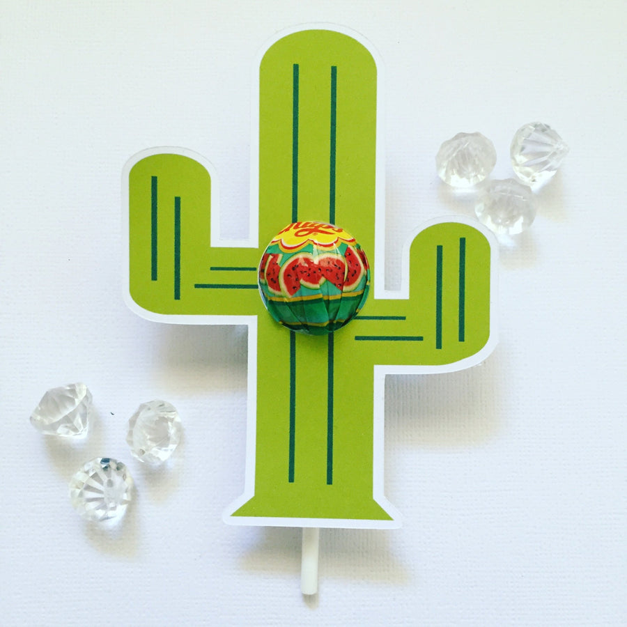 Cactus  lollipop holders