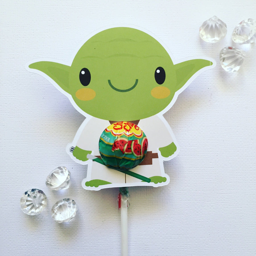 Star Wars lollipop holder