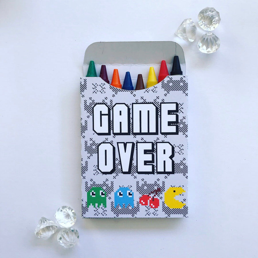Gamers crayon boxes