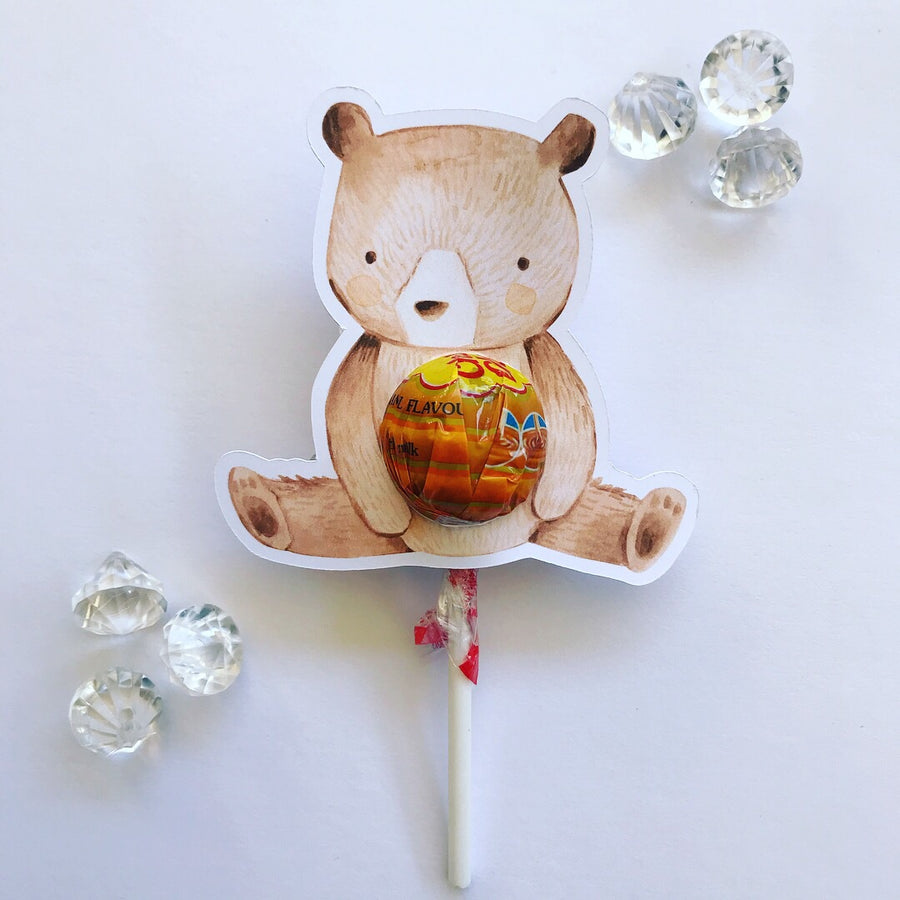 Woodland lollipop holders