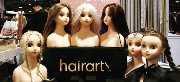 Help us name the cutest human hair mannequin dolls you've ever seen!