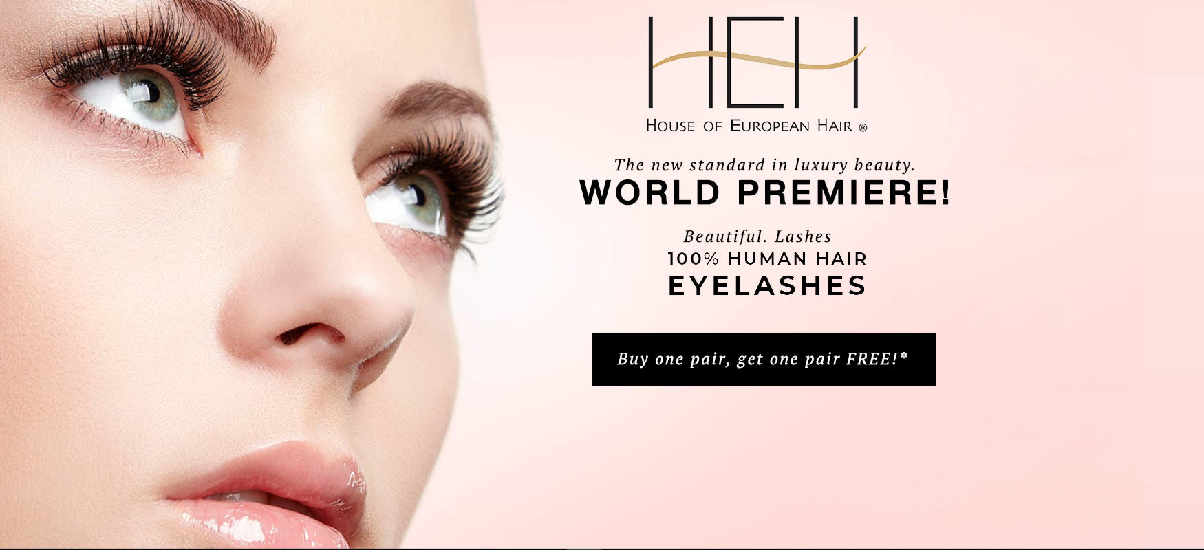Beautiful. Lashes. 100% Human Hair, Long Lasting Luxury Eyelashes