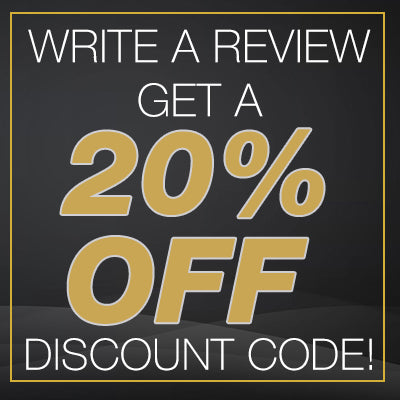Write a review, get a 20% discount code