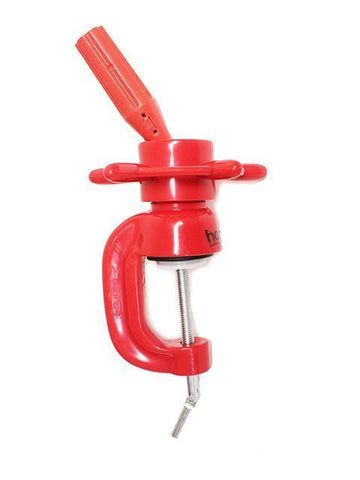 Plastic Wheel-Clamp Holder - Red