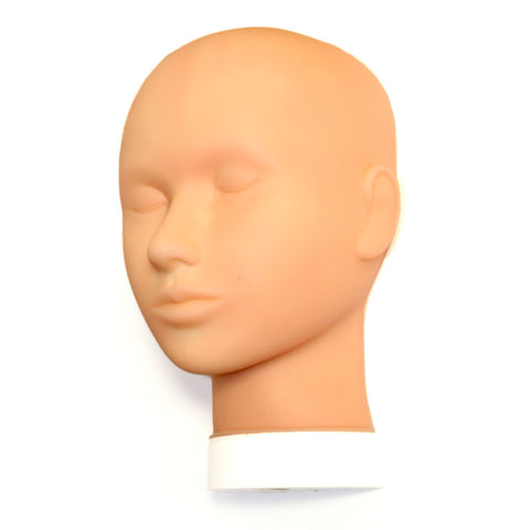 Practice Mannequin Flat Head - Closed Eyes