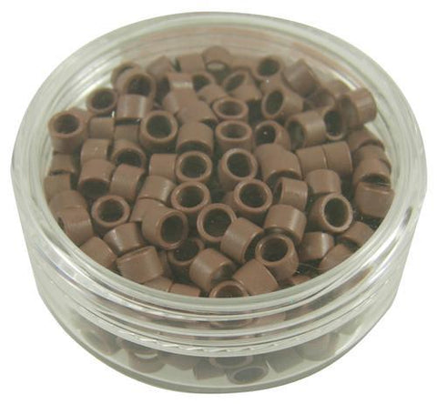 I-Tip Microlock Beads Light Brown