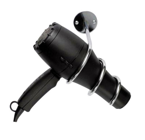 Spiral Hair Dryer Holder - Wall Mount
