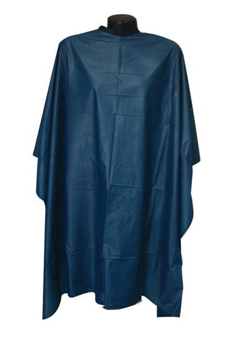 Extra Large Shampoo Cape - Velcro Closure (Blue)