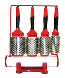 Boar Bristle W/ Magnetic Therapy Handle4 Brush Set