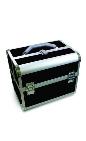 Aluminum Beauty Case - Black