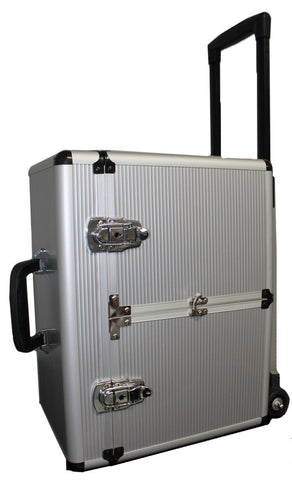 Aluminum Case with Wheels