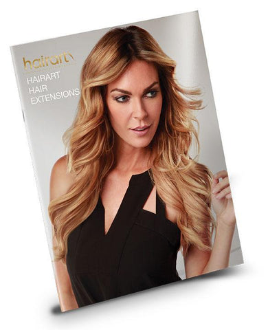 "Hairart Hair Extensions Manual ""The Art Of Hair Extensions"""
