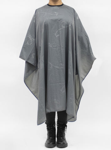 Baroque Cape For Cutting & Styling - Dark Grey