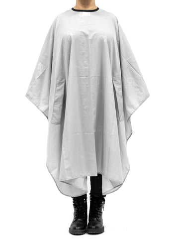 Baroque Cape For Cutting & Styling - Light Grey