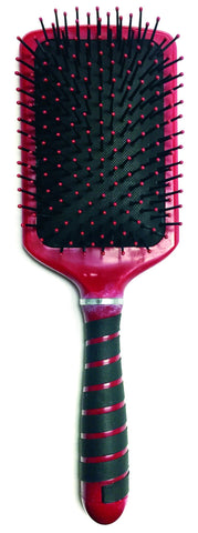Magnetic Tourmaline Paddle Brush - iTech Collection