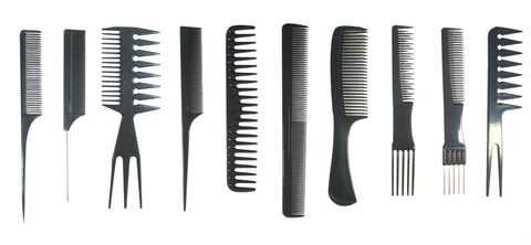 Bone Colored Comb Set - Professional Comb Set