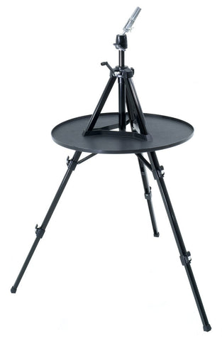 Tripod with tray