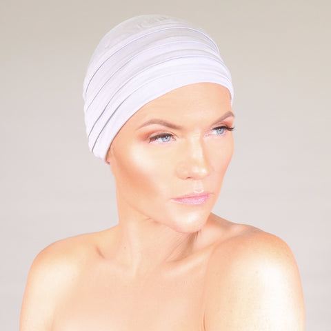 Bamboo Turban - Gray