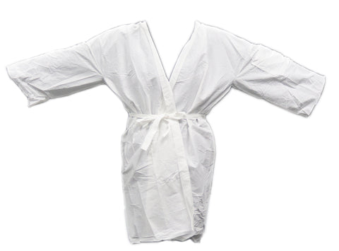 Disposable Wrap Around Gown (White) : PPE Goods from Hair Art