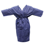 Disposable Wrap Around Gown (Dark Blue)