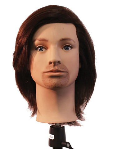 Jon [100% European Hair Mannequin]