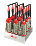 Boar Bristle W/ Magnetic Therapy Handle9 Brush Set