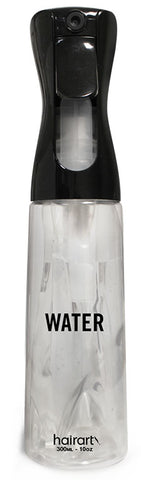 Clear Bottle - Black Sprayer