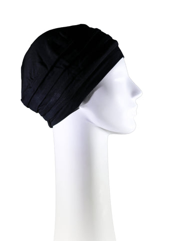 Bamboo Turban - Black