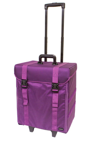 Professional Beauty Nylon Case - Medium - Purple