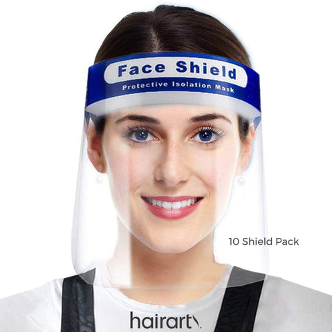 Face Shields: HairArt Cares P.P.E. Equipment for salons