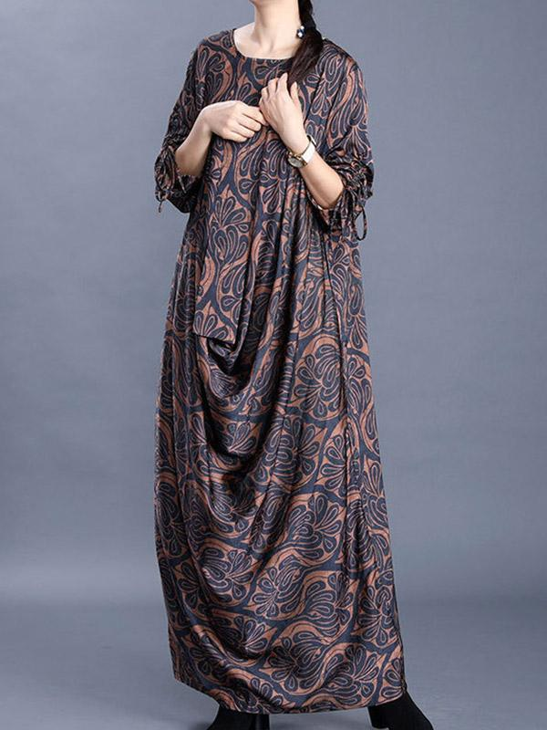 bohemian dresses for women Vintage style Loose Dress