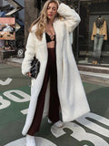 Fur Cardigan Plush Coat Jacket