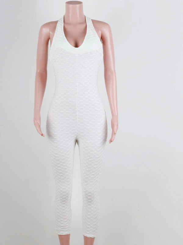 sexy women yoga sport jumpsuit