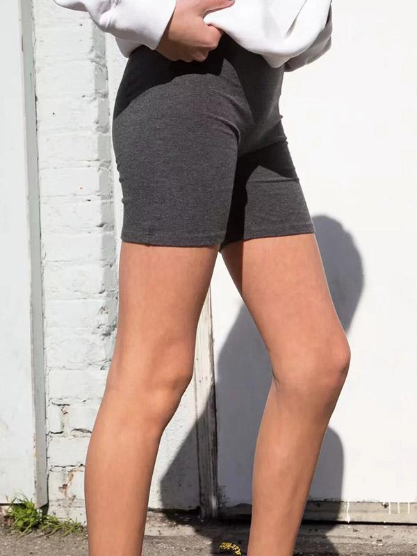 Female High Waist Hip Legging shorts