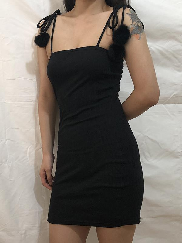New Explosive Sling One-shoulder Tube Top Hip Dress Bodycon Dress