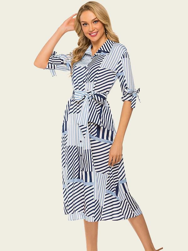New Women Originally Designed Checked Print Dress For Summer holiday