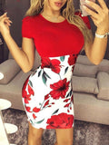 Woman Slim Fit Hip Sexy Dress