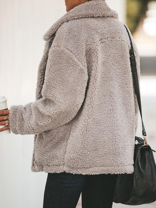 women waterfall collar cardigan sweater