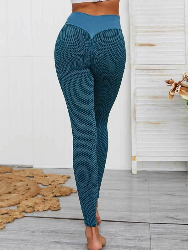women yoga butt lifting sports bottoms