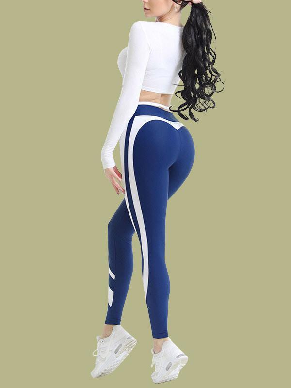 women yoga butt lifting stretchy legging