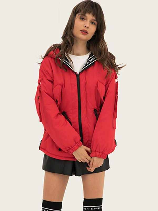 Women's Individual stitching thick coat